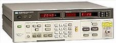 HP/AGILENT 8970B/H18 NOISE FIGURE METER, OPT. H18 INCREASES FREQ. TO 1800 MHZ